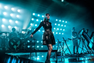 TORONTO, ON - JULY 07: CHVRCHES performs at Rebel in Toronto on July 07, 2019. (Photo: Joanna Glezakos/Aesthetic Magazine)