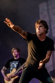 TORONTO, ON - JULY 03: Circa Survive performs at Disrupt Festival at Echo Beach in Toronto on July 03, 2019. (Photo: Joanna Glezakos/Aesthetic Magazine)
