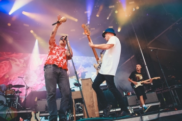 LOUISVILLE, KY - JULY 12: Cold War Kids performs at Forecastle Festival in Louisville, Kentucky on July 12, 2019. (Photo: Meghan Breedlove/Aesthetic Magazine)