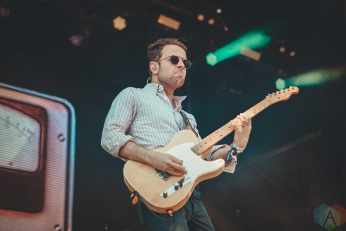 LOUISVILLE, KY - JULY 14: Dawes performs at Forecastle Festival in Louisville, Kentucky on July 14, 2019. (Photo: Meghan Breedlove/Aesthetic Magazine)