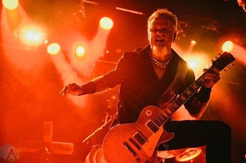 LONDON, UK - JUNE 30: Demons And Wizards performs at Islington Assembly Hall in London, UK on June 30, 2019. (Photo: Rossi Ivanova/Aesthetic Magazine)