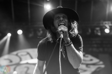 TORONTO, ON - JULY 29: Dirty Honey performs at Rebel in Toronto on July 29, 2019. (Photo: Joanna Glezakos/Aesthetic Magazine)