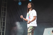 CHICAGO, IL - JULY 19: Earl Sweatshirt performs at Pitchfork Music Festival in Chicago on July 19, 2019. (Photo: Katie Kuropas/Aesthetic Magazine)
