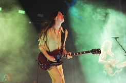 CHICAGO, IL - JULY 19: Haim performs at Pitchfork Music Festival in Chicago on July 19, 2019. (Photo: Katie Kuropas/Aesthetic Magazine)