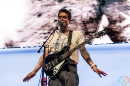 TORONTO, ON - JULY 30: John Mayer performs at Scotiabank Arena in Toronto on July 30, 2019. (Photo: Jenna Hum/Aesthetic Magazine)