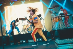 LOUISVILLE, KY - JULY 12: Judah And The Lion performs at Forecastle Festival in Louisville, Kentucky on July 12, 2019. (Photo: Meghan Breedlove/Aesthetic Magazine)