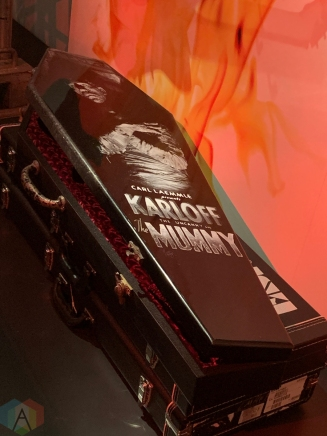 "TORONTO, ON - Kirk Hammett's ""It's Alive! Classic Horror and Sci-Fi Art from the Kirk Hammett Collection"" exhibition at the Royal Ontario Museum in Toronto. (Photo: Curtis Sindrey/Aesthetic Magazine)"
