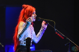 TORONTO, ON - JULY 27: Lights performs at Danforth Music Hall in Toronto on July 27, 2019. (Photo: Jaime Espinoza/Aesthetic Magazine)