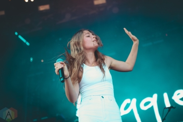 LOUISVILLE, KY - JULY 13: Maggie Rogers performs at Forecastle Festival in Louisville, Kentucky on July 13, 2019. (Photo: Meghan Breedlove/Aesthetic Magazine)