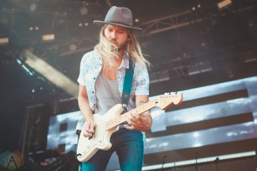 LOUISVILLE, KY - JULY 13: Moon Taxi performs at Forecastle Festival in Louisville, Kentucky on July 13, 2019. (Photo: Meghan Breedlove/Aesthetic Magazine)