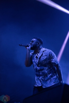 TORONTO, ON - JULY 06: NAV performs at Echo Beach in Toronto on July 06, 2019. (Photo: Natasha Kopunovic/Aesthetic Magazine)
