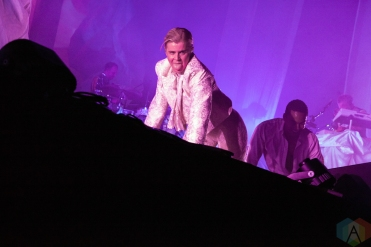 NEW YORK, NY - JULY 19: Robyn performs at Barclays Center in New York on July 19, 2019. (Photo: Emily Korn/Aesthetic Magazine)