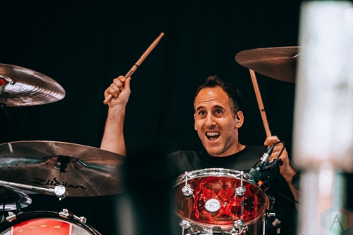 TORONTO, ON - JULY 07: Simple Plan performs at Budweiser Stage in Toronto on July 07, 2019. (Photo: David Scala/Aesthetic Magazine)
