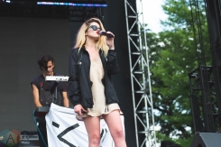 CHICAGO, IL - JULY 19: Sky Ferreira performs at Pitchfork Music Festival in Chicago on July 19, 2019. (Photo: Katie Kuropas/Aesthetic Magazine)