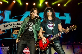 TORONTO, ON - JULY 29: Slash feat. Myles Kennedy and the Conspirators performs at Rebel in Toronto on July 29, 2019. (Photo: Joanna Glezakos/Aesthetic Magazine)