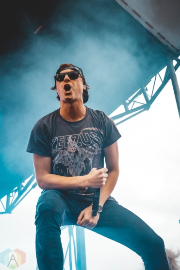 PONTIAC, MI - JULY 21: State Champs performs at Sad Summer Fest in Pontiac, Michigan on July 21, 2019. (Photo: Rebekah Witt/Aesthetic Magazine)