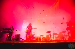 TORONTO, ON - JULY 26: Tame Impala performs at Budweiser Stage in Toronto on July 26, 2019. (Photo: Anton Mak/Aesthetic Magazine)