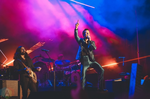 LOUISVILLE, KY - JULY 12: The Killers performs at Forecastle Festival in Louisville, Kentucky on July 12, 2019. (Photo: Meghan Breedlove/Aesthetic Magazine)