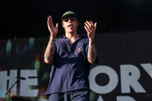 TORONTO, ON - JULY 03: The Story So Far performs at Disrupt Festival at Echo Beach in Toronto on July 03, 2019. (Photo: Joanna Glezakos/Aesthetic Magazine)