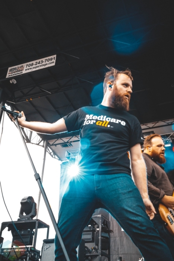 PONTIAC, MI - JULY 21: The Wonder Years performs at Sad Summer Fest in Pontiac, Michigan on July 21, 2019. (Photo: Rebekah Witt/Aesthetic Magazine)