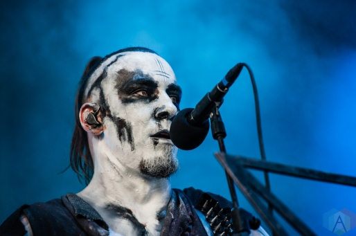 TORONTO, ON - AUGUST 20: Behemoth performs at Budweiser Stage in Toronto on August 20, 2019. (Photo: Tyler Roberts/Aesthetic Magazine)