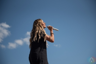 ORO-MEDONTE, ON - AUGUST 10: Carly Pearce performs at Boots And Hearts 2019 in Oro-Medonte on August 10, 2019. (Photo: Kirsten Sonntag/Aesthetic Magazine)