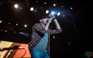 ORO-MEDONTE, ON - AUGUST 09: Cole Swindell performs at Boots And Hearts 2019 in Oro-Medonte on August 09, 2019. (Photo: Kirsten Sonntag/Aesthetic Magazine)