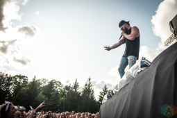 ORO-MEDONTE, ON - AUGUST 09: Dylan Scott performs at Boots And Hearts 2019 in Oro-Medonte on August 09, 2019. (Photo: Kirsten Sonntag/Aesthetic Magazine)