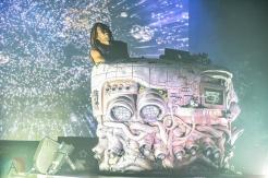 TORONTO, ON - AUGUST 25 - Flying Lotus performs at Danforth Music Hall in Toronto on August 25, 2019. (Photo: Natasha Kopunovic/Aesthetic Magazine)