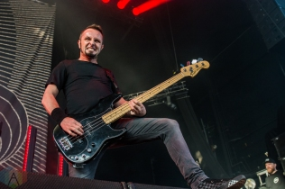 TORONTO, ON - AUGUST 20: Gojira performs at Budweiser Stage in Toronto on August 20, 2019. (Photo: Tyler Roberts/Aesthetic Magazine)