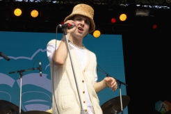 ELORA, ON - AUGUST 18: Hubert Lenoir performs at Riverfest Elora on August 18, 2019. (Photo: Dakota Arsenault/Aesthetic Magazine)