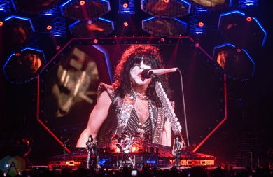 TORONTO, ON - AUGUST 17: KISS performs at Scotiabank Arena in Toronto on August 17, 2019. (Photo: Natasha Kopunovic/Aesthetic Magazine)