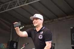 ELORA, ON - AUGUST 18: Mix Master Mike performs at Riverfest Elora on August 18, 2019. (Photo: Dakota Arsenault/Aesthetic Magazine)