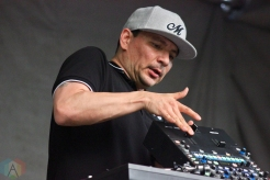ELORA, ON - AUGUST 18: Mix Master Mike performs at Riverfest Elora on August 18, 2019. (Photo: Curtis Sindrey/Aesthetic Magazine)