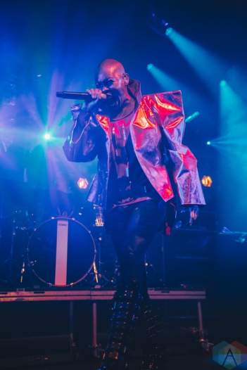 MANCHESTER, UK - AUGUST 18 - Skunk Anansie performs at Manchester Academy on August 18, 2019. (Photo: Priti Shikotra/Aesthetic Magazine)