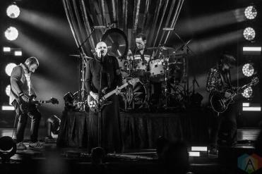 TORONTO, ON - AUGUST 13: Smashing Pumpkins performs at Budweiser Stage in Toronto on August 13, 2019. (Photo: Joanna Glezakos/Aesthetic Magazine)