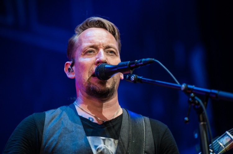 TORONTO, ON – AUGUST 20: Volbeat performs at Budweiser Stage