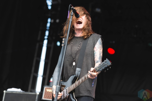 CHICAGO, IL - SEPT. 15 - Against Me performs at Riot Fest in Chicago on September 15, 2019. (Photo: Katie Kuropas/Aesthetic Magazine)