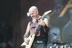CHICAGO, IL - SEPT. 14 - Anthrax performs at Riot Fest in Chicago on September 14, 2019. (Photo: Katie Kuropas/Aesthetic Magazine)