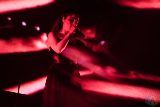 TORONTO, ON - SEPTEMBER 03: Banks performs at Rebel in Toronto on September 03, 2019. (Photo: Morgan Hotston/Aesthetic Magazine)