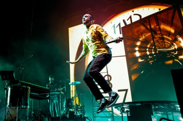 TORONTO, ON - SEPTEMBER 20: Bastille performs at Budweiser Stage in Toronto on September 20, 2019. (Photo: Katrina Lat/Aesthetic Magazine)