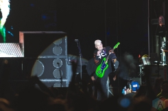 CHICAGO, IL - SEPT. 13 - Blink 182 performs at Riot Fest in Chicago on September 13, 2019. (Photo: Katie Kuropas/Aesthetic Magazine)