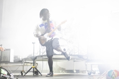CHICAGO, IL - SEPT. 14 - Bloc Party performs at Riot Fest in Chicago on September 14, 2019. (Photo: Katie Kuropas/Aesthetic Magazine)