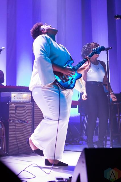 TORONTO, ON - SEPTEMBER 23: Brittany Howard performs at Danforth Music Hall in Toronto on September 23, 2019. (Photo: Katrina Lat/Aesthetic Magazine)