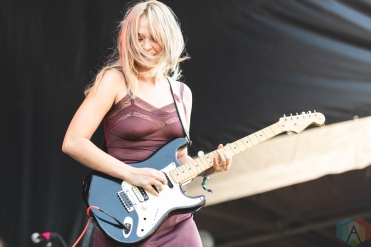 CHICAGO, IL - SEPT. 14 - Cherry Glazerr performs at Riot Fest in Chicago on September 14, 2019. (Photo: Katie Kuropas/Aesthetic Magazine)