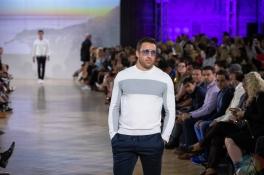 TORONTO, ON - SEPTEMBER 05: Christopher Bates runaway show at Toronto Fashion Week on September 05, 2019. (Photo: Brendan Albert/Aesthetic Magazine)