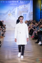 TORONTO, ON - SEPTEMBER 05: Christopher Bates runaway show at Toronto Fashion Week on September 05, 2019. (Photo: Brendan Albert/Aesthetic Magazine)
