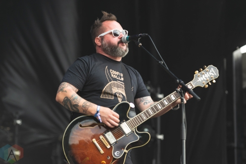 CHICAGO, IL - SEPT. 13 - The Get Up Kids performs at Riot Fest in Chicago on September 13, 2019. (Photo: Katie Kuropas/Aesthetic Magazine)
