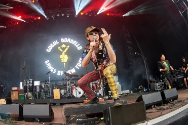 TORONTO, ON - SEPTEMBER 07: Gogol Bordello performs at MattyFest in Toronto on September 07, 2019. (Photo: Morgan Harris/Aesthetic Magazine)