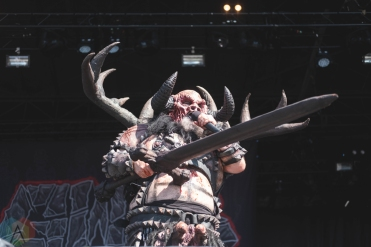 CHICAGO, IL - SEPT. 14 - GWAR performs at Riot Fest in Chicago on September 14, 2019. (Photo: Katie Kuropas/Aesthetic Magazine)